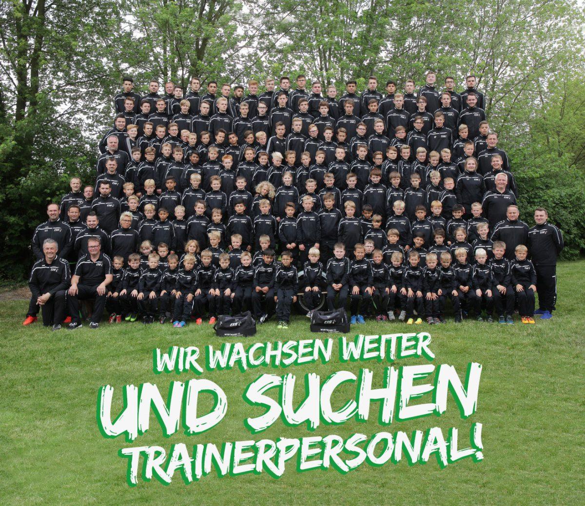 Du bist Trainer und hast Spaß an der Ausbildung von Kindern und Jugendlichen?