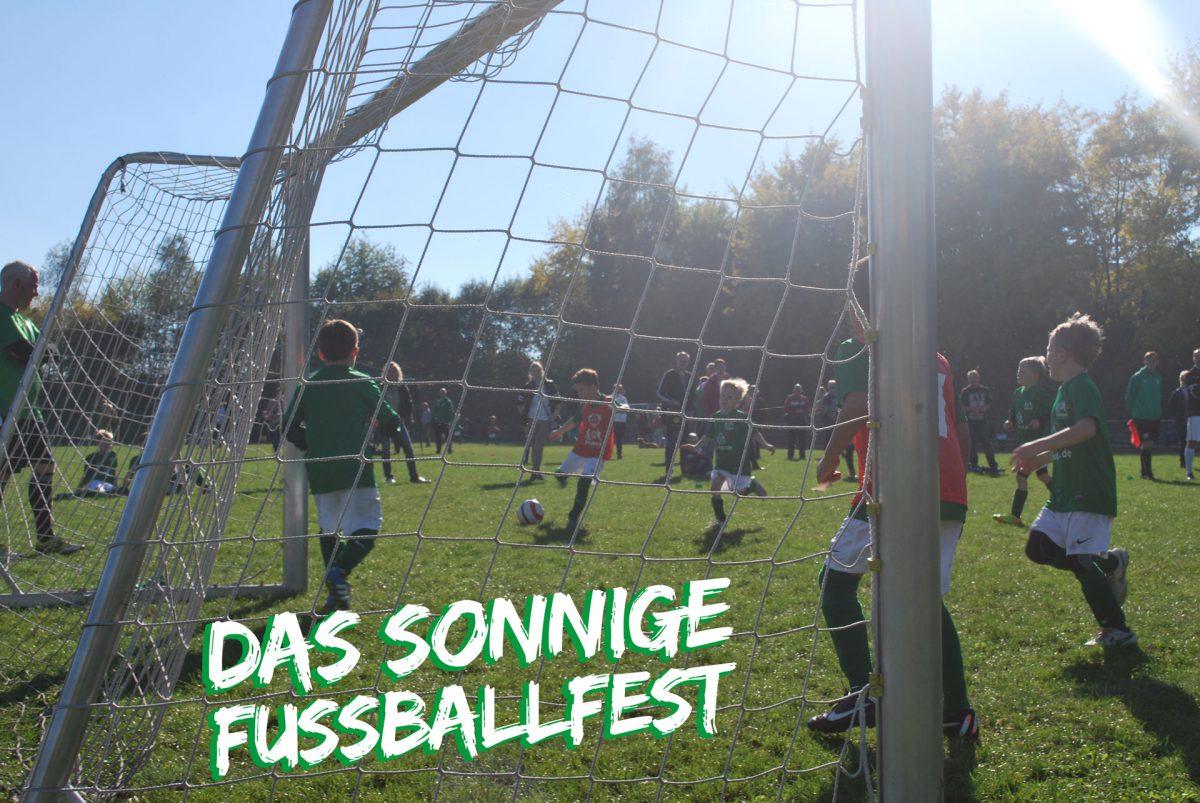 Das sonnige Fußballfest