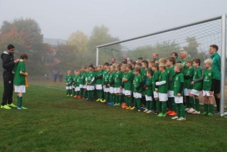 Werder Fußballschule 2018 bei der FSG